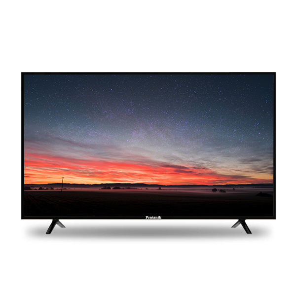 Pentanik 50 inch Smart Android Silver LED TV