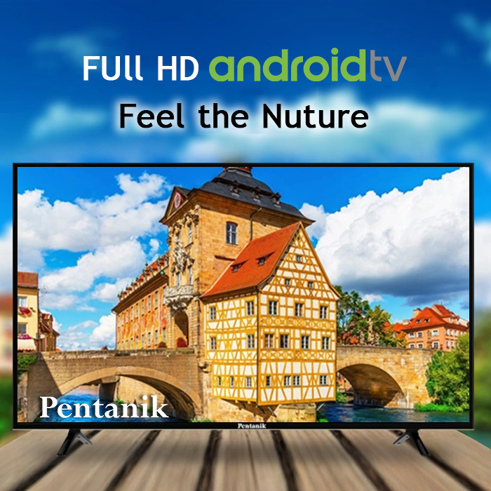 Pentanik 50 inch Smart Android Silver LED TV 6