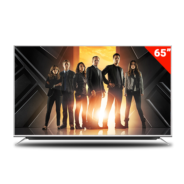 Pentanik 65 inch Smart LED TV with Soundbar