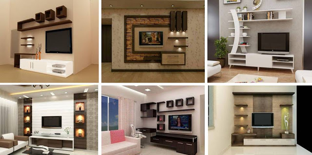 Suitable TV living Room Wall Mount Decorating Ideas in 2020