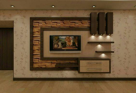 Suitable TV living Room Wall Mount Decorating Ideas in 2020 10