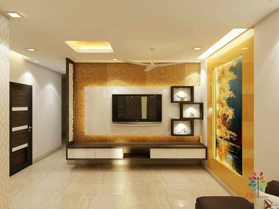 Suitable TV living Room Wall Mount Decorating Ideas in 2020 8