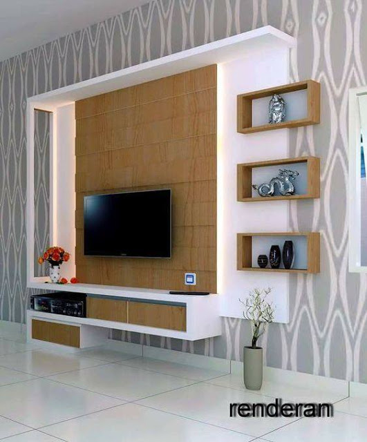 Suitable TV living Room Wall Mount Decorating Ideas in 2020 7