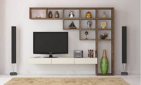 Suitable TV living Room Wall Mount Decorating Ideas in 2020 6