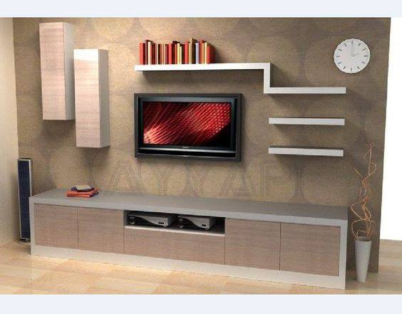Suitable TV living Room Wall Mount Decorating Ideas in 2020 3