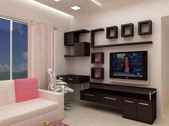 Suitable TV living Room Wall Mount Decorating Ideas in 2020 17