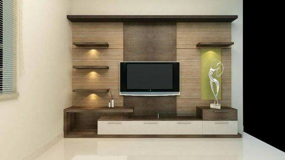 Suitable TV living Room Wall Mount Decorating Ideas in 2020 15