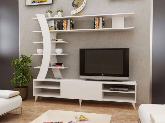 Suitable TV living Room Wall Mount Decorating Ideas in 2020 13
